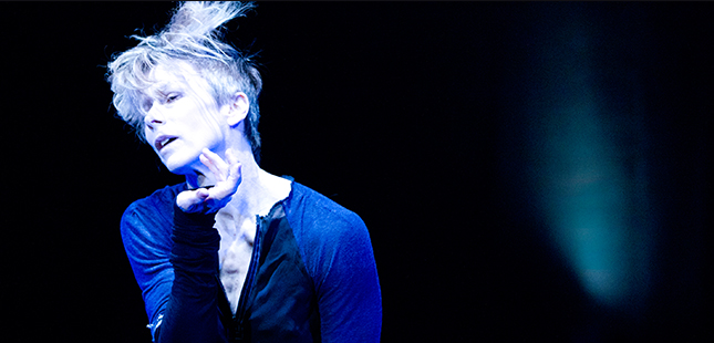 Louise Lecavalier in So Blue, January 5 -7 as part of the High Performance Rodeo